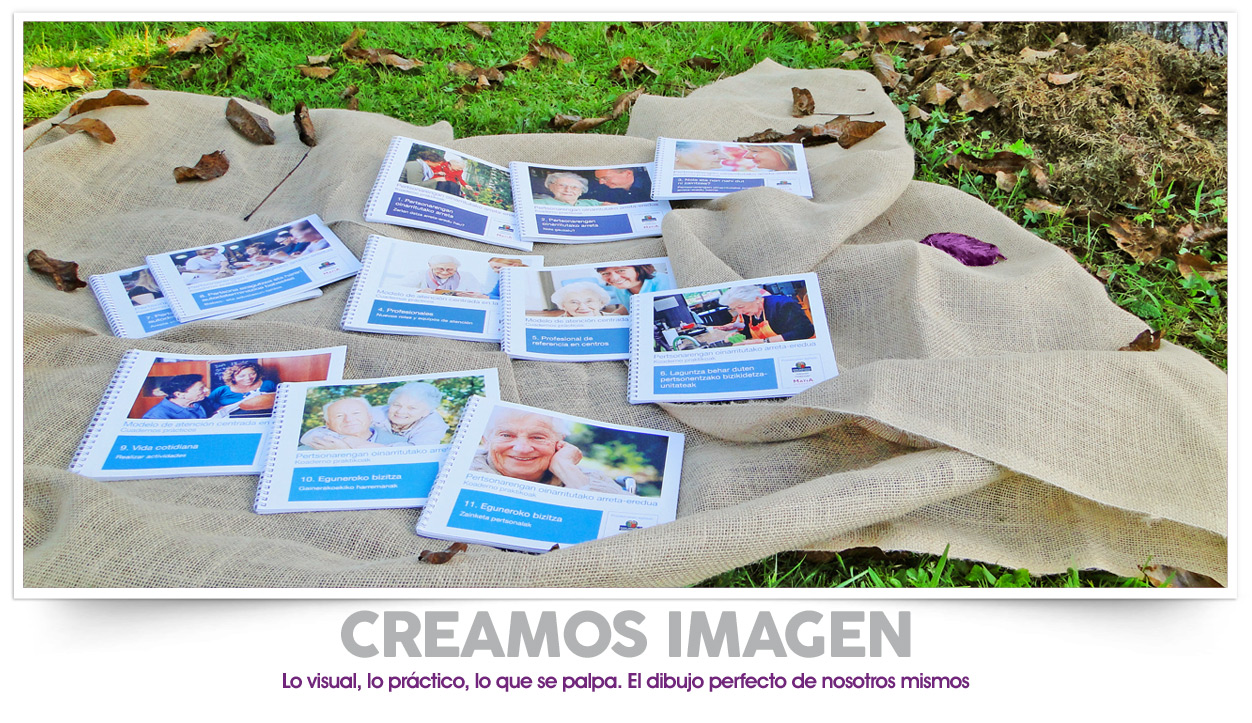 Diseño de catálogos para Matia Fundazioa
