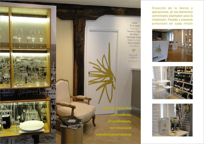 Diseño de interiores de locales comerciales, tiendas, bares, restaurantes, Donostia, San Sebastián, Irun, Gipuzkoa