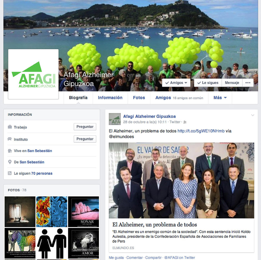 Redes sociales, servicios de community maneger en Donostia-San Sebastián, Irun, Gipuzkoa